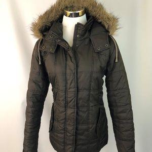 Dollhouse M Medium Women's Jacket Puffer Brown